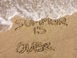 Summer is over~